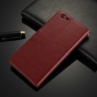Case Casing HP OPPO Leather Case Kulit Flip Wallet Cover F1S F1 S A59
