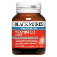 Jual Blackmores Vitamin D3 D-3 1000 iu 1000iu Vit D 60 Caps (Vit Matahari) Murah