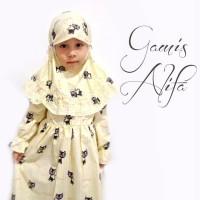 Harga promo gamis anak set kerudung hijab baju muslim anak perempuan | Pembandingharga.com
