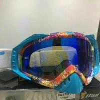 kacamata cross Thor warna biru Limited