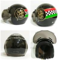 Helm Retro Classic  Helm Bogo Vespa Classic Rider Limited