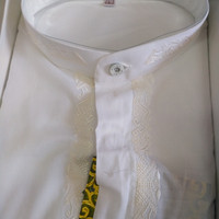 Baju Koko Atlas Lengan Pendek ukuran M