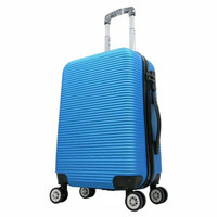 Tas travel koper fiber kabin umroh polo L01 Biru uk 20 inchi