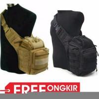 Promo tas army selempang tactical pria type 803 import side bag milit