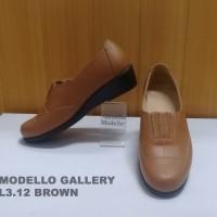 Peaberry/Modello Sepatu Wanita Kulit
