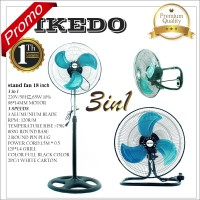 kipas IKEDO 18inch KS-318 stand fan 3 IN 1 TERBARU
