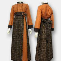 Model Baju Gamis Batik Kombinasi Terbaru - Bahan dijamin 100% Original