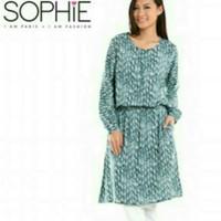 Gaun busana muslim baju terusan Sophie Martin Paris