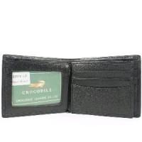 Dompet Kulit Pria Crocodile Premium Import Black ORIGINAL