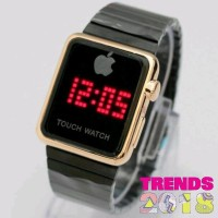 Jam Tangan Apple Iphone I Phone LED Touch Watch Kualitas Super Harga