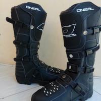 Sepatu cross oneal hitam lokal trail offroad motocross cros bandung