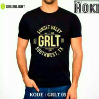 Baju Kaos Casual Original GreenLight Tshirt Sport Ori Pria Wanita