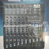 Mixer ALTO Professional LIVE802 LIVE 802 8 Channel 2 Bus