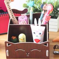 Kotak Kayu DIY Kucing