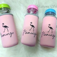 My Bottle Flamingo Infused Water B-03-7 Dengan Pouch