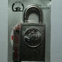 gembok besar magnet/magnit, magnetic padlock Diskon