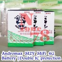 Baterai Modem XL Go MoviMax MV-003BT M2y Double IC Protection