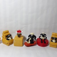 Shaun The Sheep Happy Meal Mcd Mcdonald Saun Mainan Skate Toys Domba