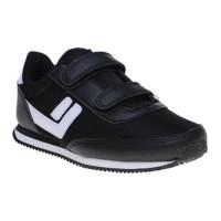 Sepatu sekolah League Legas Series Sanchez LA jr hitam