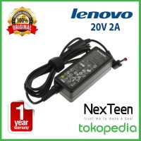 ORIGINAL GARANSI 1TH CHARGER NETBOOK LENOVO 20V 2A IdeaPad S9 S9e S10