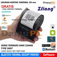 Mini Portable Bluetooth Thermal Receipt Printer (Zjiang 5807)