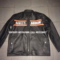 Harley Davidson Jaket Asli Kulit Sapi Srangken Super