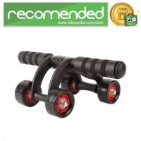 Power Wheel Alat Fitness Roller - Hitam