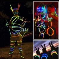 Glow Stick Light (100pcs) GELANG GLOW IN THE DARK GLOW STIK LIGHT