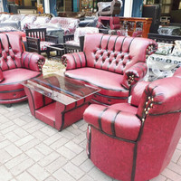 Sofa kancing 1 set + meja
