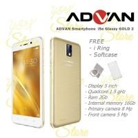 Hp Advan Smatphone i5e Glassy Gold 2 [16GB/2Gb] Garansi Resmi