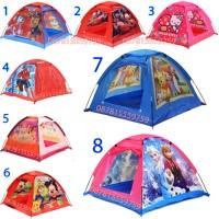Tenda Mainan anak bermain rumah-rumahan Princess Spiderman frozen