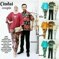 kebaya modern. batik couple. kutubaru sarimbit cindai PROMO