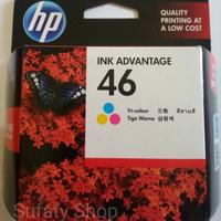Tinta printer HP 46 Tri Colour