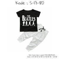 Baju pakaian anak bayi laki-laki perempuan beatles