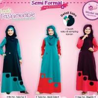 Baju Gamis Bahan Kaos Murah / Mutif 98