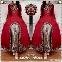 Jual Abaya Wanita Baju Pesta Dress Modern Busana Muslimah Murah