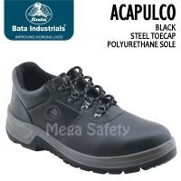 Termurah Bata Acapulco Black Hitam Classic Sepatu Safety Shoes Indust