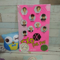 EXO for You bonus poster paperdoll photocard sticker
