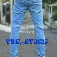 celana jeans panjang kick denim/cheapmonday/volcom /psd/vans