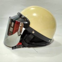 TERMURAH helm bogo retro rider setengah kulit Limited