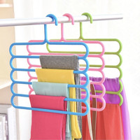 A1-41 Hanger Handuk / Gantungan Handuk, Baju, Syal 5 in 1