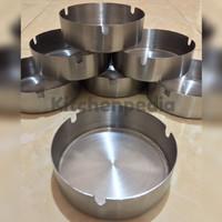 Asbak Stainless / Round Ashtray 10 cm x 3 cm