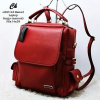 Terbaru s000148 ransel laptop tas wanita tas batam tas import keren