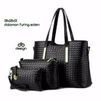 Terbaru tas hitam tas paket tas wanita grosir tas murah sepatu murah