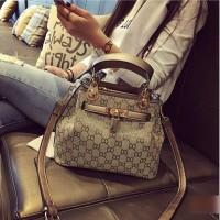 Harga promo best seller hand bag 367p tas guci elegant wanita gold import | Pembandingharga.com