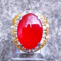 Batu Cincin Akik Darah Carnelian Elegan