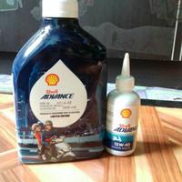 Harga Shell Advance Matic Travelbon.com
