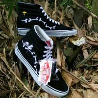 Termurah Sepatu Vans Sk8 Hi Reissue x Peanuts Snoopy Original Premium