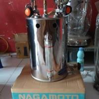 Setrika Uap Boiler Gas Nagamoto Japan Technology 10 Liter Komp Murah