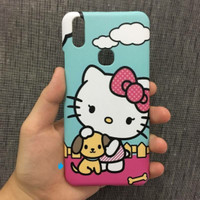 Custom Case Casing Hello Kitty Hp Xiaomi Redmi 4 Fullprint 3D
